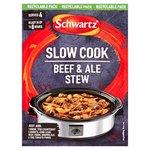 Schwartz Slow Cookers Beef & Ale Stew Recipe Mix