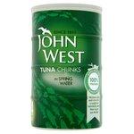John West Tuna Chunks in Spring Water (4x160g)