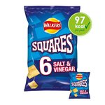 Walkers Square Salt & Vinegar Snacks