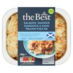 Morrisons The Best Smoked Haddock & King Prawn Fish Pie