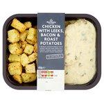 Morrisons Chicken with Leeks, Bacon & Roast Potatoes