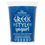 Morrisons Greek Style Yogurt