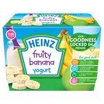 Heinz 4-36 Mths Fruity Banana Yogurt
