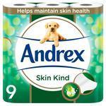 Andrex Skin Kind Toilet Tissue with Aloe Vera & Vitamin E