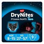 Huggies DryNites Boys Pyjama Pants 8-15 year