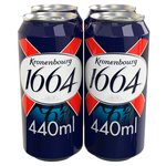 Kronenbourg 1664 Premium Lager, Delivered Chilled