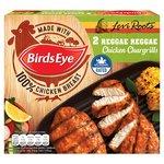 Birds Eye Reggae Reggae Chicken Chargrills