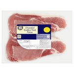 Morrisons Unsmoked Rindless Back Bacon 12 Pack