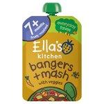 Ella's Kitchen Bang Bang Bangers & Mash with Veggies