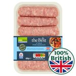 Morrisons The Best Gluten Free Thick Pork Sausages