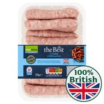 Morrisons The Best Pork Gluten Free Chipolatas 12 Pack