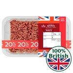 Morrisons British Minced Beef 20% Fat