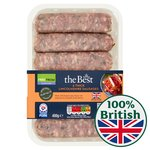 Morrisons The Best Gluten Free Thick Lincolnshire Sausages