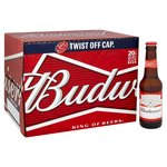Budweiser Bottles, Delivered Chilled