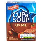 Batchelors Cup a Soup Oxtail 4 Sachets
