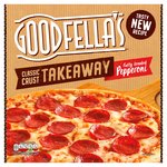 Goodfellas Takeaway Fully Loaded Pepperoni Pizza & Sweet Chilli Dip