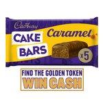 Cadburys Caramel Cake Bars