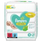 Pampers Sensitive Baby Wipes 4 x 50 per pack