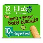 Ella's Kitchen Apple & Ginger Biccies