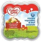 Cow & Gate Country Vegetables & Beef Casserole Steamed Meal