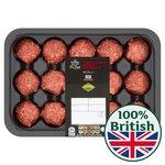 Morrisons The Best British Beef Brisket Meatballs