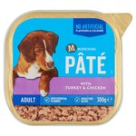 Morrisons Pate Single Tray Turkey & Chicken