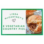 Linda McCartney 2 Meat-Free Country Pies 380g