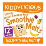 Kiddylicious Banana, Mango & Passion Fruit Smoothie Melts