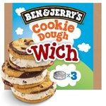 Ben & Jerry's Cookie Dough Sandwich 3 Pack