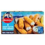Birds Eye Crispy Batter Fish Fingers 8 Pack