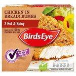 Birds Eye Hot and Spicy Chicken In Breadcrumbs 2 Pack
