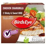 Birds Eye Sticky & Sweet BBQ Chicken Chargrills 2 Pack