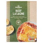 Morrisons Beef Lasagne
