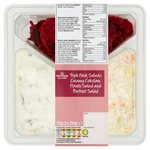 Morrisons Triple Pack Salad