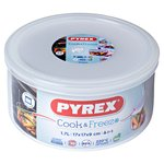 Pyrex Classic Round Dish With Lid 1.6L