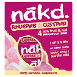 Nakd Rhubarb And Custard Raw Fruit & Nut Bars