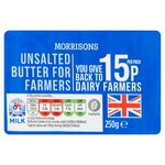 Morrisons Butter For Farmers Unsalted
