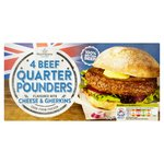 Morrisons New Yorker Beef Quarter Pound Burger