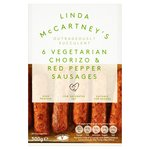 Linda McCartney Vegetarian Chorizo & Red Pepper Sausages