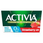 Activia 0% Fat Strawberry Yogurt