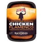 The Black Farmer Chicken Flamenco Sausages 6 Pack
