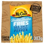 McCain Shake Shake Fries Sea Salt & Cracked Black Pepper