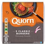 Quorn Chefs Selection Meat Free Classic Burgers 2 Pack
