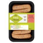 Morrisons Free From Mexican Style Chicken Sausages