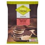 Morrisons Free From Dark Chocolate Mini Rice Cakes