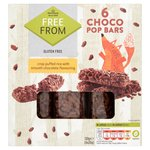 Morrisons Free From Choco Pops Bars