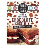Free & Easy Gluten & Dairy Free Choc Cake Mix Without Sugar