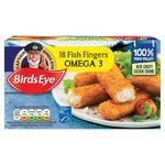 Birds Eye 18 Omega 3 Fish Fingers