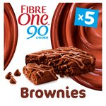 Fibre One 90 Calories 5 Chocolate Fudge Brownies