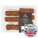 Morrisons The Best 6 Ancho Chilli Beef Kebabs